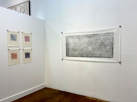 Drawings on exhibition at 203 Fine Art in Taos, New Mexico